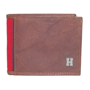 Tommy Hilfiger Brown Leather Men's Wallet